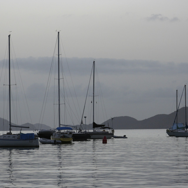 """Cruz Bay, Saint John, US Virgin Islands"" stock image"