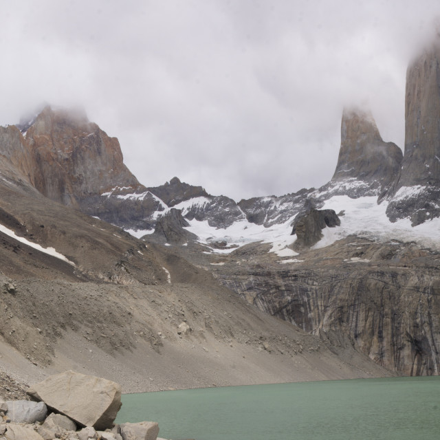 """Las Torres del Paine"" stock image"