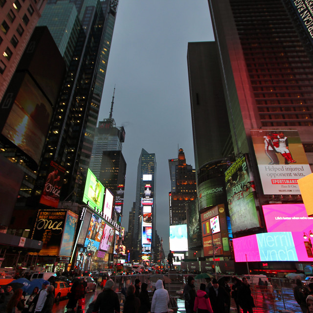 """""""Times Square, New York"""" stock image"""