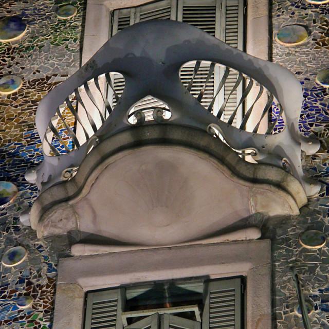 """""""Casa Batlo, Barcelona"""" stock image"""