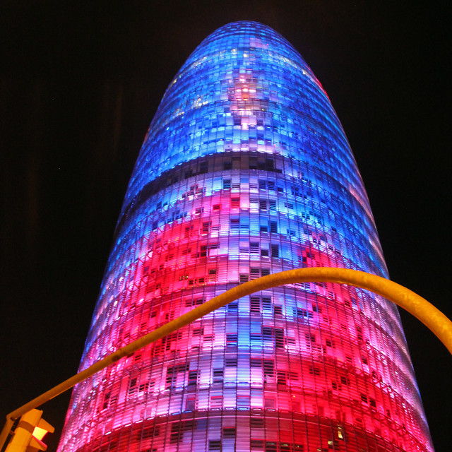 """""""Torre Agbar"""" stock image"""