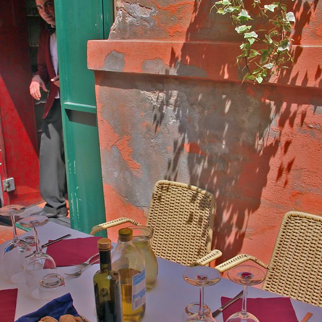 """""""Burano restaurant"""" stock image"""