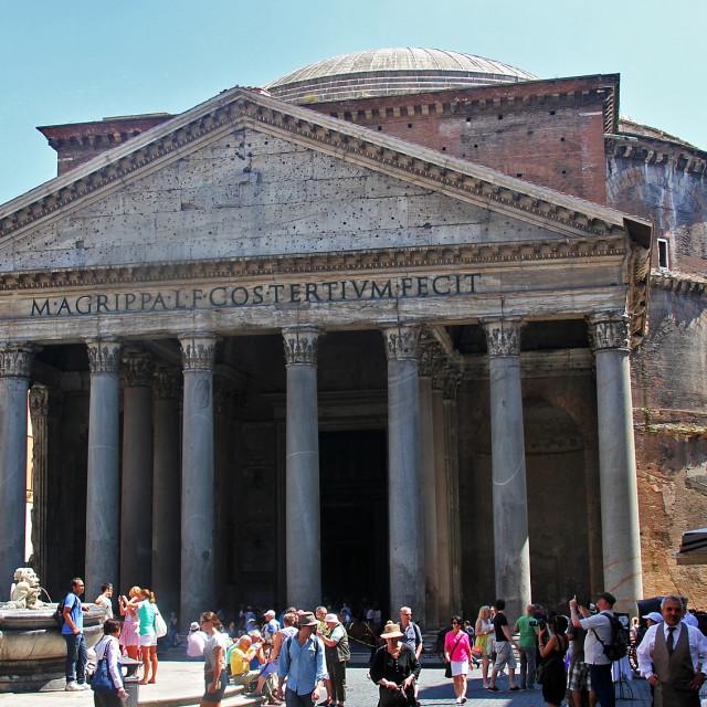 """""""Pantheon,"""" stock image"""