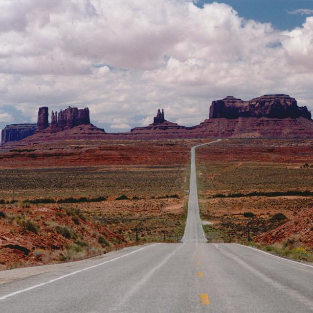 """Monument valley classic Vista"" stock image"