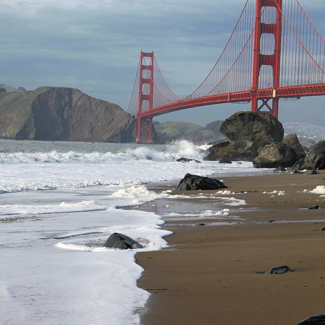 """Golden Gate bridge, San Francisco, California"" stock image"