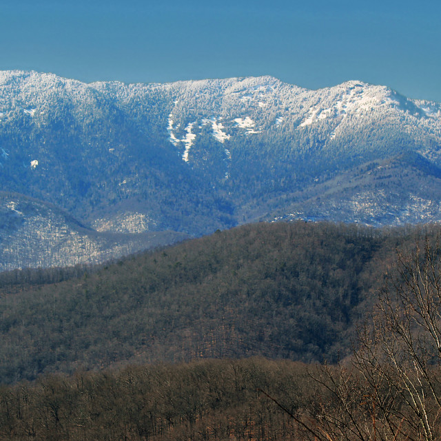 """Mount Mitchell, North Carolina"" stock image"