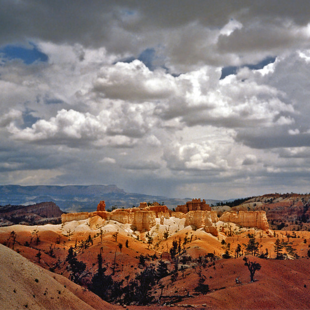 """""""Bryce Canyon partly cloudy"""" stock image"""