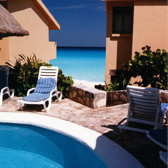 """""""Hotel, Cancun Mexico"""" stock image"""