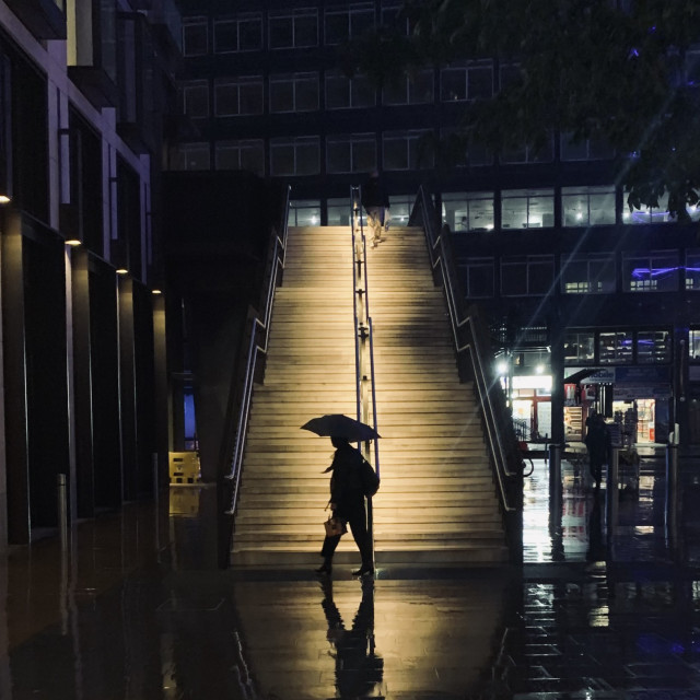 """Waterloo Station"" stock image"