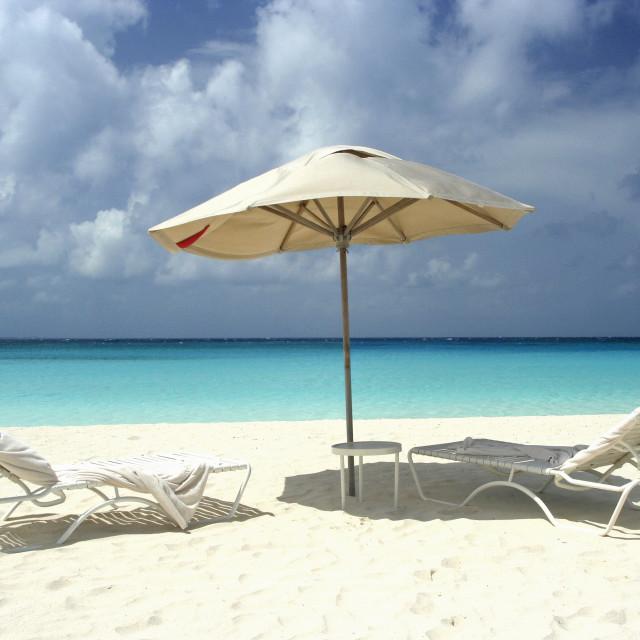 """Maunday Bay, Anguilla"" stock image"