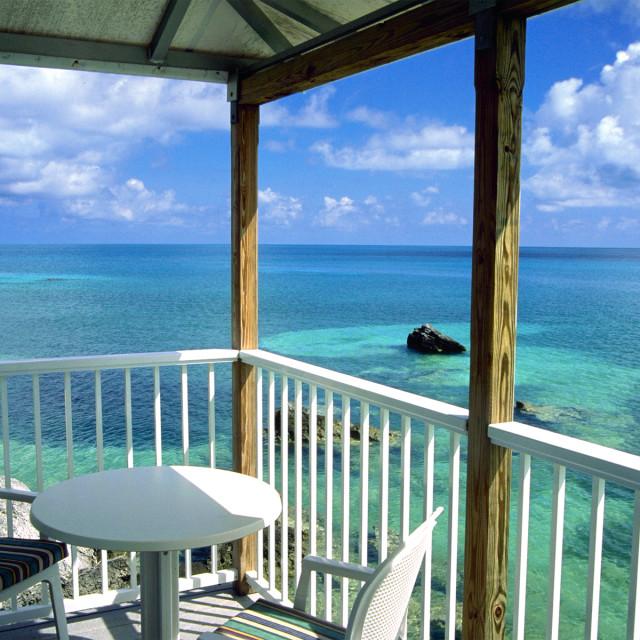 """Eco-hut, Bermuda"" stock image"