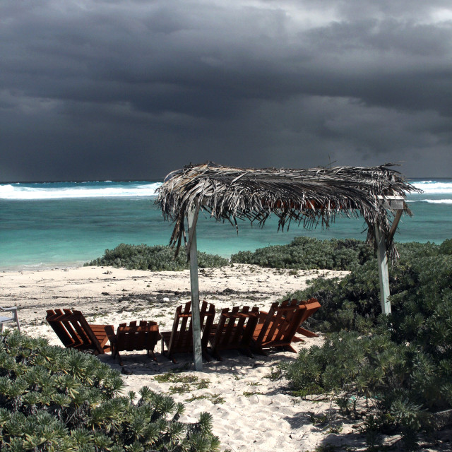 """Anegada North shore, British Virgin Islands"" stock image"