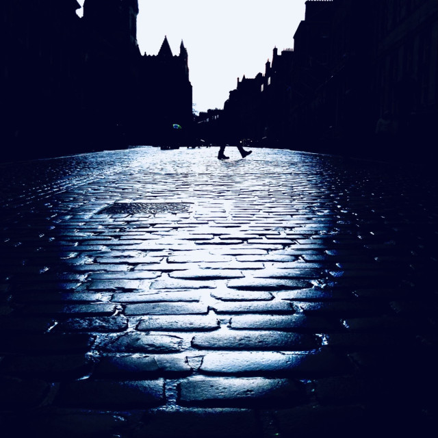 """""""The Royal Mile"""" stock image"""