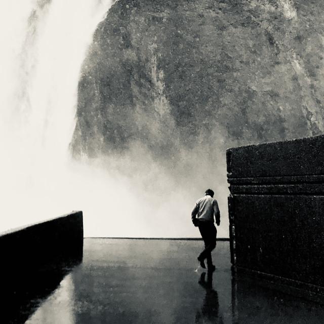 """Montmorency Falls"" stock image"