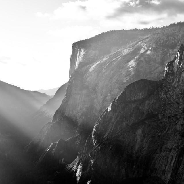 """Yosemite's Stage"" stock image"