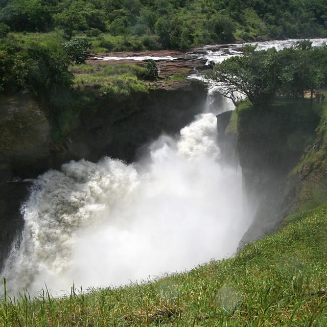"""Murchison falls, Nile River, Uganda, Africa"" stock image"