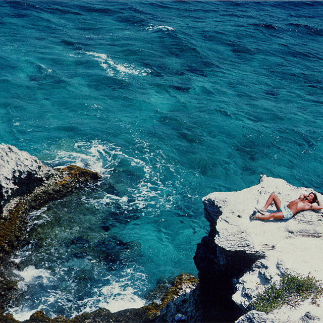 """Me at Isla Mujeres"" stock image"