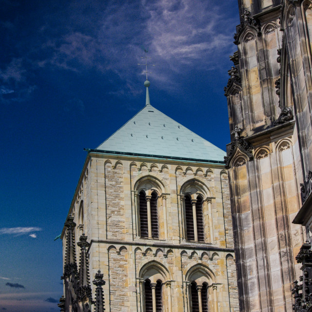 """Münster Dom"" stock image"