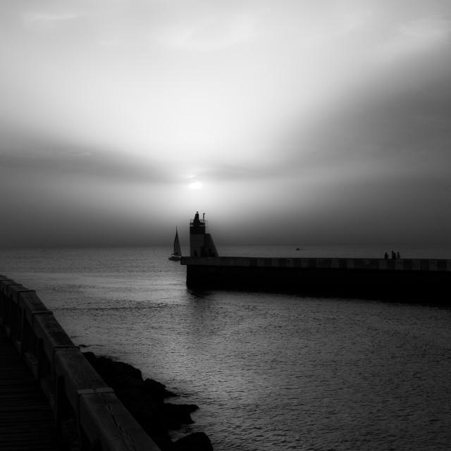 """Ghost Wharf"" stock image"