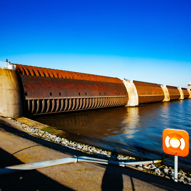 """coastal protection on the north sea"" stock image"