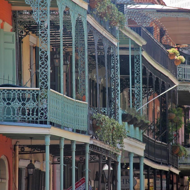 """""""Rue Royale,New Orleans"""" stock image"""