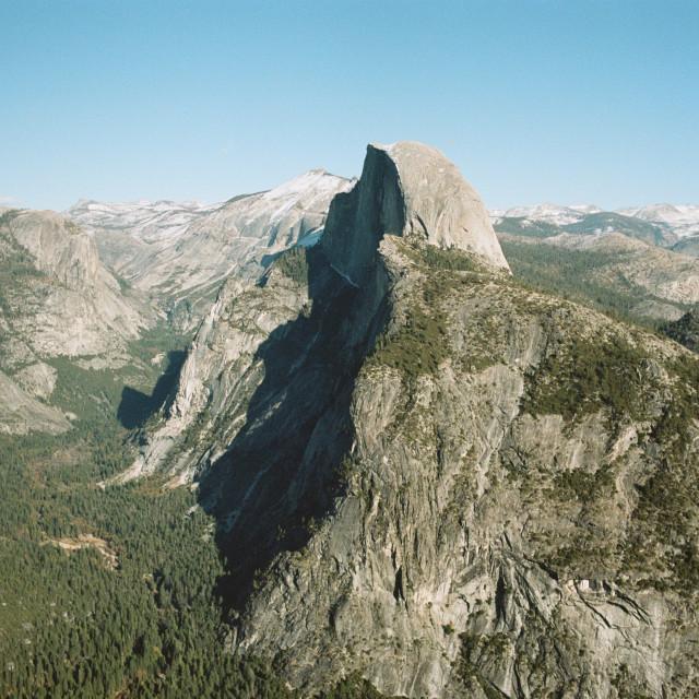 """Half Dome Film"" stock image"