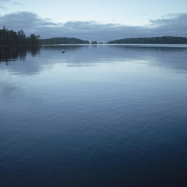 """""""Serene Coastline I"""" stock image"""