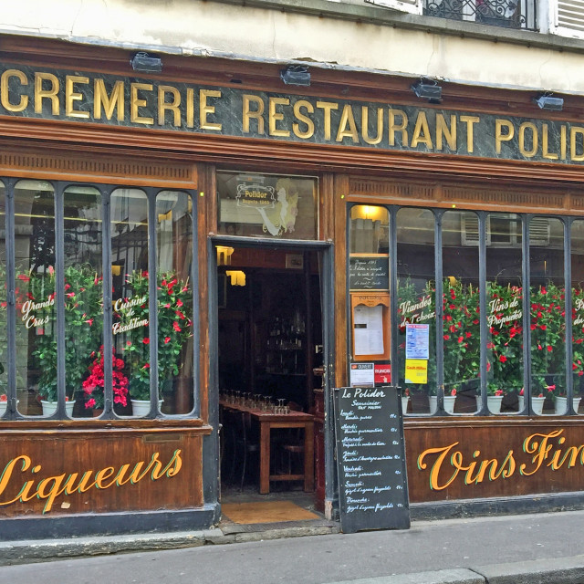 """Polidor restaurant Paris France"" stock image"