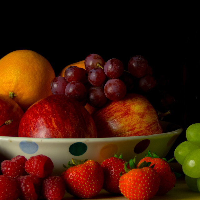 """Fruit bowl"" stock image"