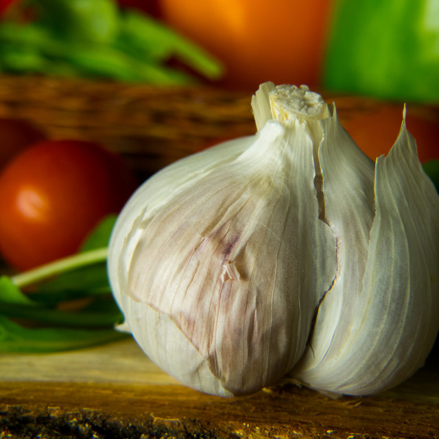 """Garlic"" stock image"