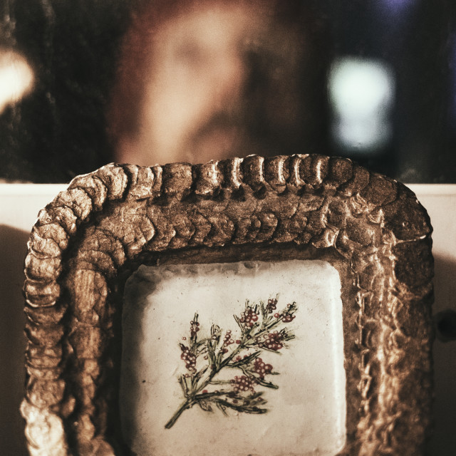 """Mirroring Self VIII (Self Portrait)"" stock image"