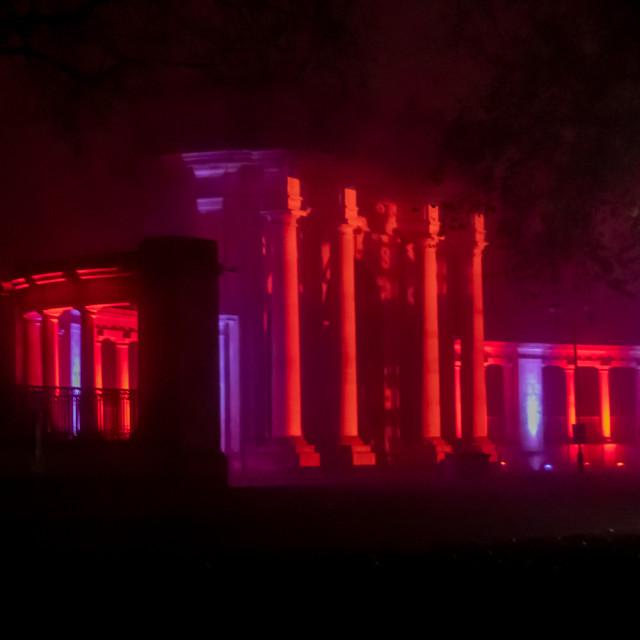 """Nottingham War Memorial on Remembrance Sunday"" stock image"