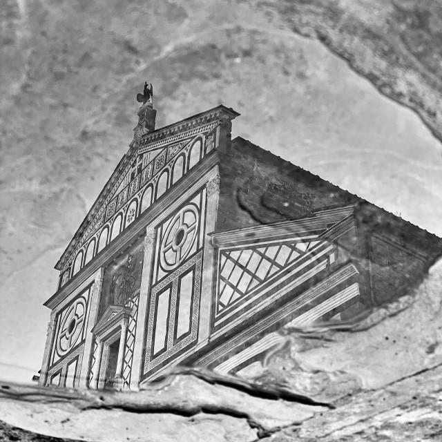 """""""San Miniato al Monte, Florence - Italy"""" stock image"""