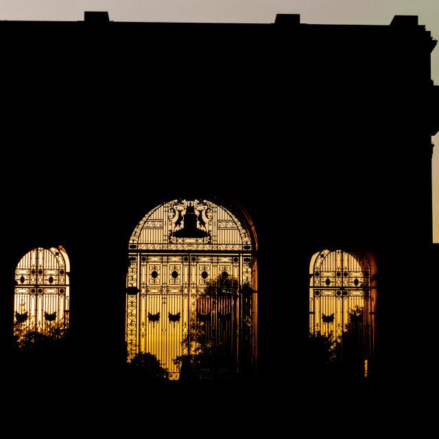 """The War Memorial, Nottingham"" stock image"