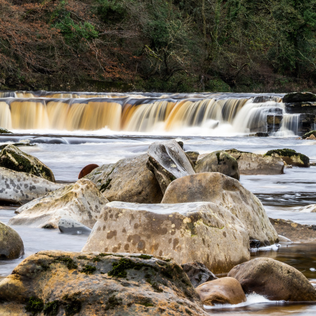 """Richmond Falls."" stock image"