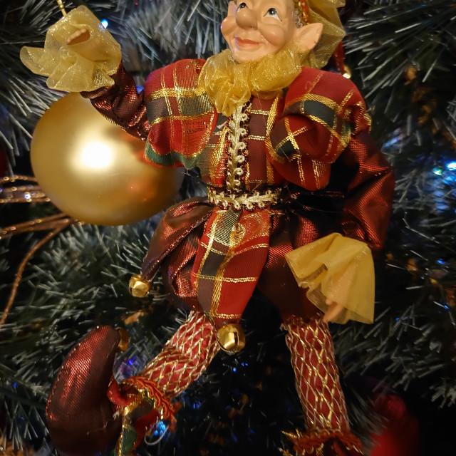 """Christmas decorations"" stock image"