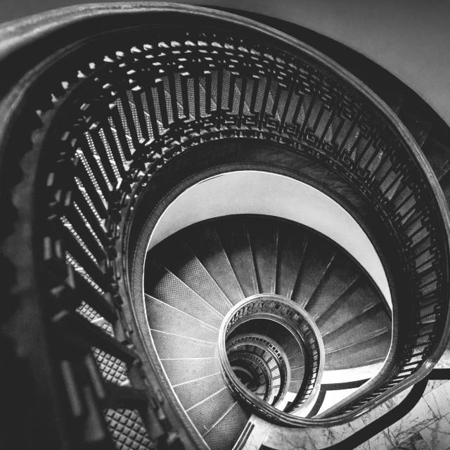 """""""round stairs"""" stock image"""