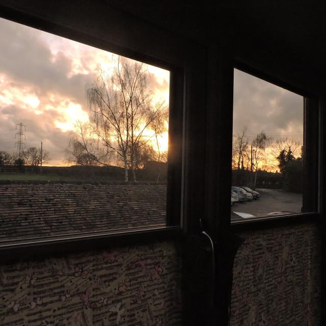 """Window View Middleton December 2020"" stock image"