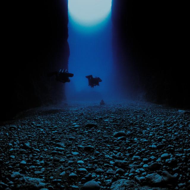 """Inland Sea on Rebreathers"" stock image"