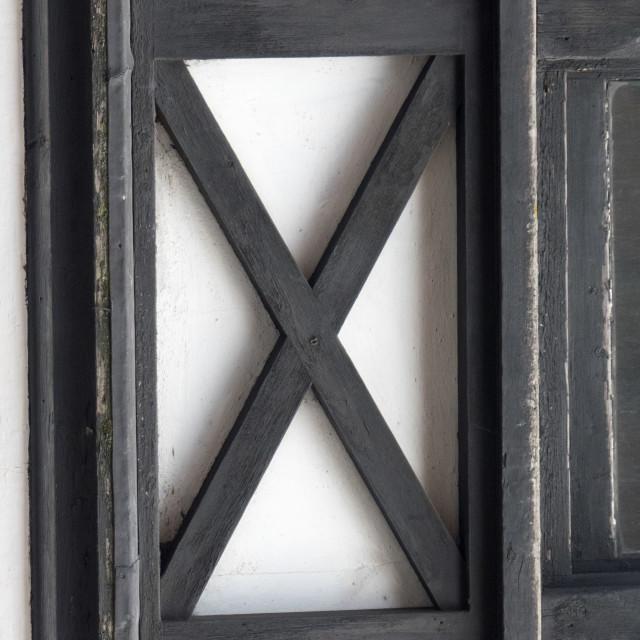"""LetterArt X"" stock image"