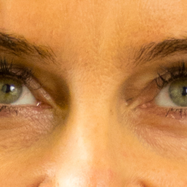 """Green eye model"" stock image"
