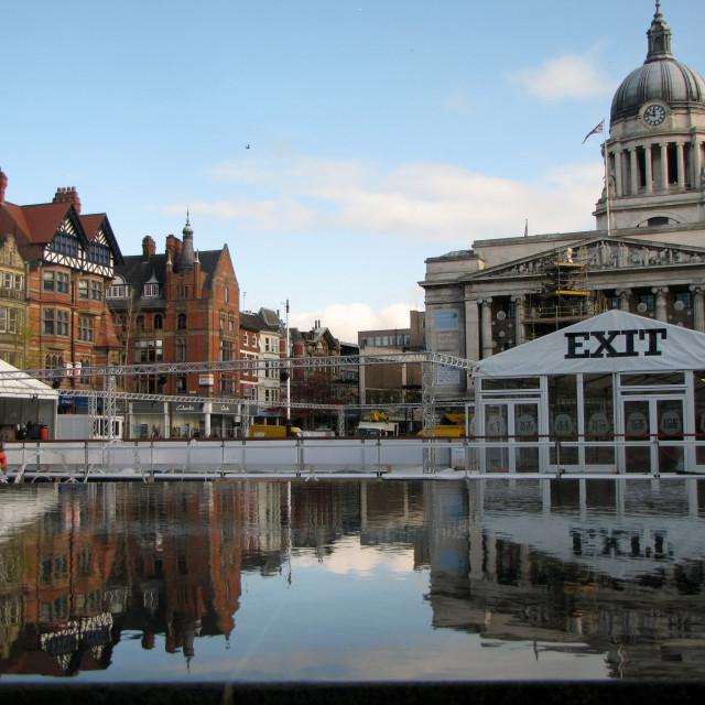 """""""Nottingham"""" stock image"""