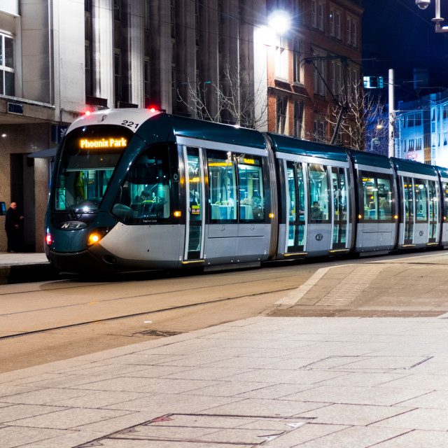 """Nottingham"" stock image"