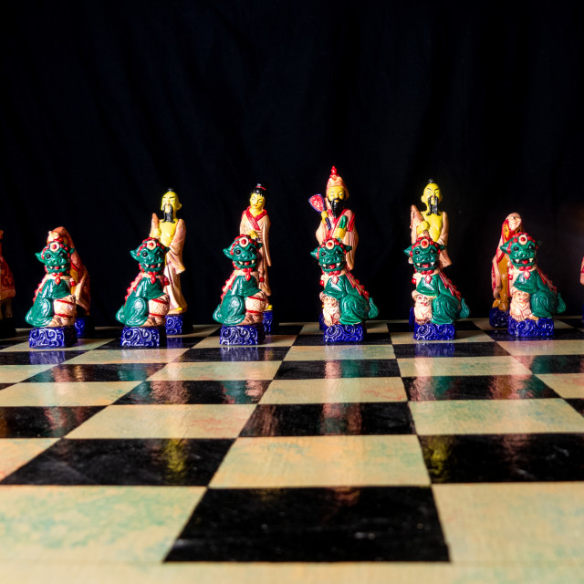 """Chess Set"" stock image"