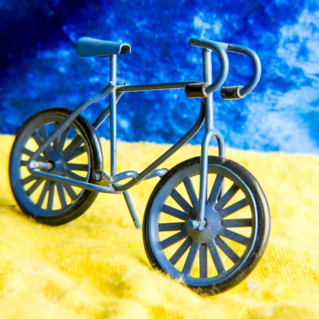"""Model bicycle"" stock image"