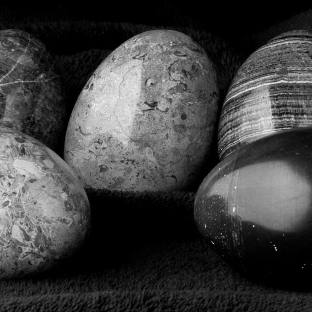 """""""Stone eggs"""" stock image"""
