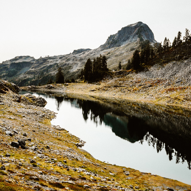 """Lake Ann"" stock image"