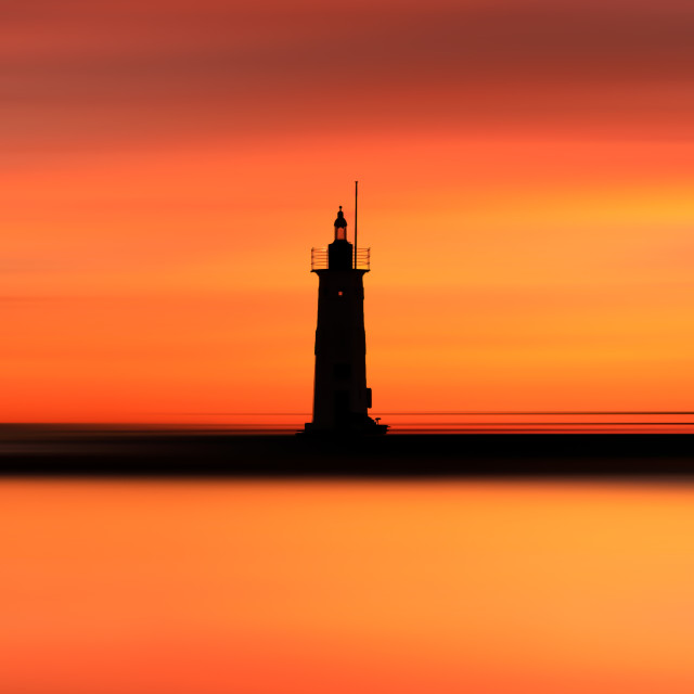 """""""Anstruther Lighthouse"""" stock image"""