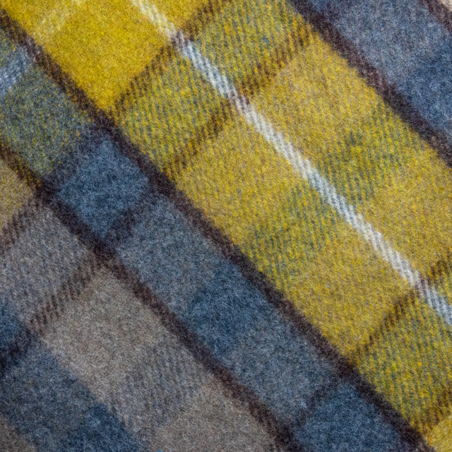 """Background Texture Of A Tartan Plaid Blanket"" stock image"
