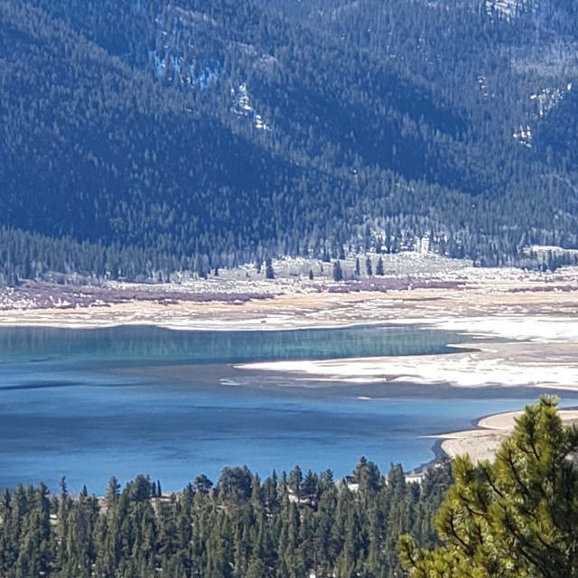 """""""Twin Lakes, CO"""" stock image"""